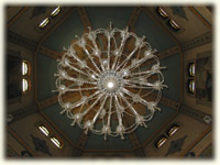 Main chandelier in St. George's Cathedral